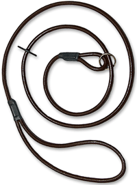 Leather Dog Slip Leads