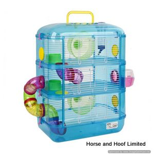 Little Zoo Heather Fantasia 3 Hamster Cage - Blue