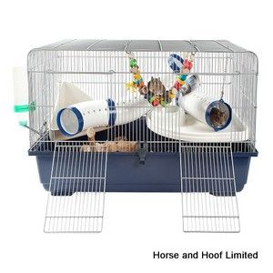 Little Zoo Ricky Large Rodent Cage 80 x 48 x 51cm