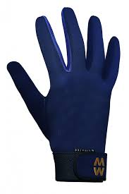 MacWet Long Climatec Sports Gloves - Navy