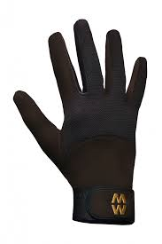 MacWet Long Mesh Sports Gloves - Brown.