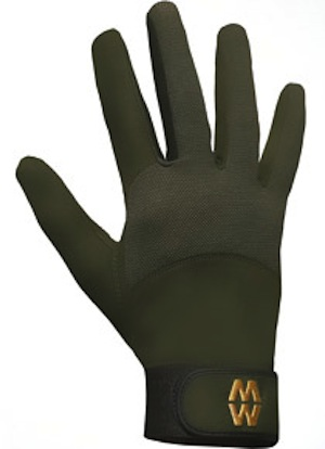 MacWet Long Mesh Sports Gloves - Green