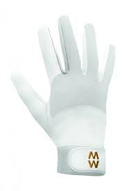 MacWet Long Mesh Sports Gloves - White