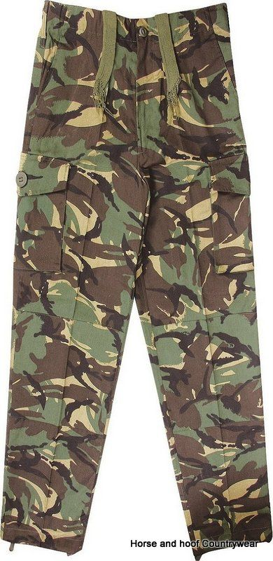 Mil-com Kids Soldier 95 Style Trousers - Camo