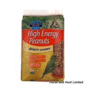 Natures Feast High Energy Bird Feed Peanuts 5kg