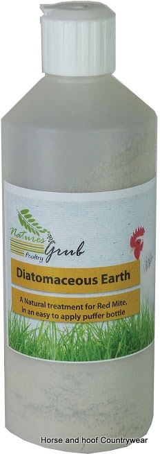 Natures Grub Diatomaceous Earth Puffer Bottle