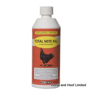 Net-Tex Poultry Parasite Total Mite Kill Concentrater 500ml
