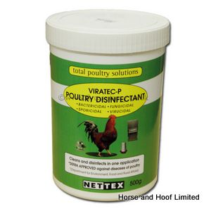 Net-Tex Viratec-P Poultry Disinfectant For Farm Animals 500g