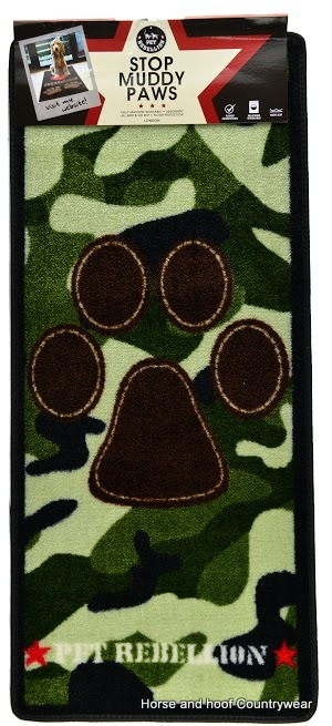 Pet Rebellion Camouflage Barrier Rug