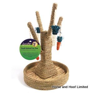 Rosewood Boredom Breaker Bunny Fun Tree Toy For Small Animals