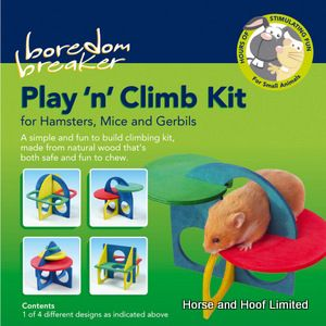 Rosewood Boredom Breaker Play 'n' Climb Kit Toy For Small Animals