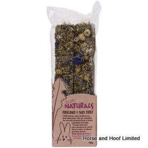 Rosewood Naturals Cornflower & Daisy Sticks  For Small Animals 140g