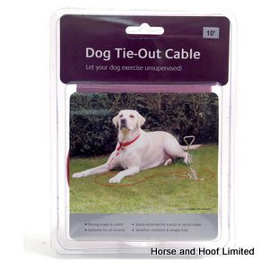 Rosewood Tie Out Cable For Pets