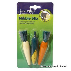 Rosewood Wooden 3D Vegetable Nibble Stix 3 Pack