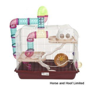 Sky Harvey Explorer 3 Hamster Cage  - Brown