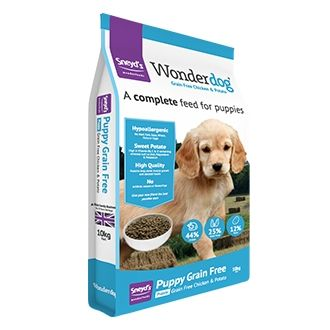 Sneyds Wonderdog Grain Free Chicken Puppy Food 10kg