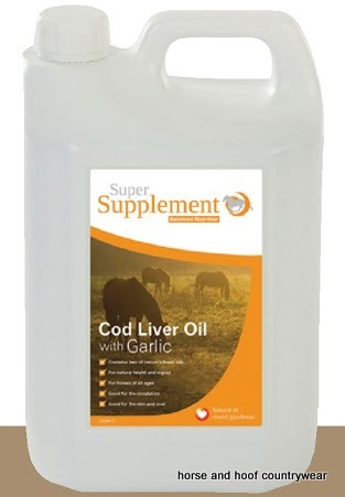 Super Supplement Cod Liver Oil with Garlic