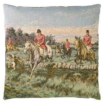The Chase - Fine Tapestry Cushion