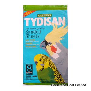 Tydisan Large Red Bulk Pack Sanded Sheets (43x28cm) x 160