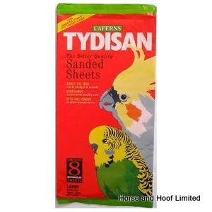 Tydisan Large Red  Sanded Sheets (43x28cm) 8 x 12