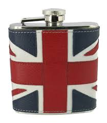Union Jack Flask 6oz