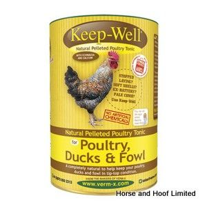 Verm X Keep Well Parasite Control For Poultry 750g