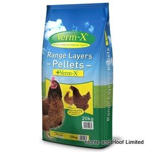 Verm X Layers Pellets with Verm-X Poultry Food 5kg