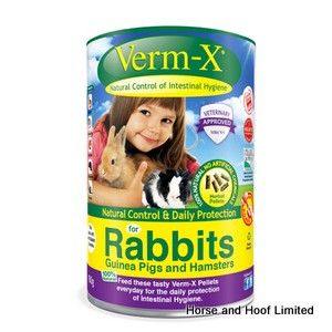 Verm X Nugget Wormer For Rabbits 180g
