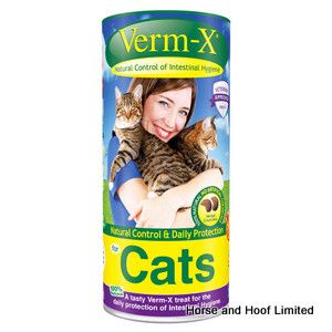 Verm X Treats For Cats 120g