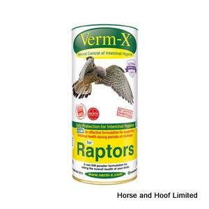 Verm X  Wormer Powder For Raptors 50g