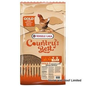 Versele Laga Country's Best Gold 4 Gallico Pellet Poultry Food 5kg