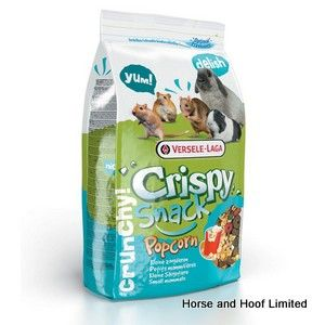 Versele Laga Crispy Snack Popcorn Feed For Small Animals 1.75kg