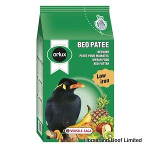 Versele Laga Orlux Beo Patee Complete Food For Large - Fruit Eating Birds 25kg