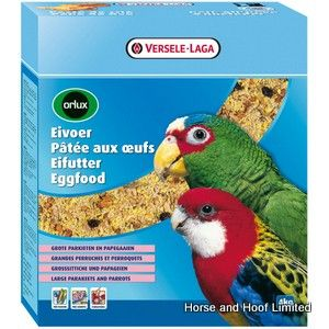 Versele Laga Orlux Eggfood For Dry Big Parakeets & Parrots 800g