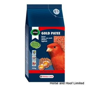 Versele Laga Orlux Gold Patee Red Food For Canaries 7 x 250g