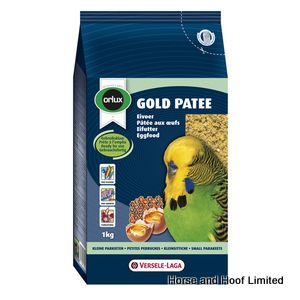 Versele Laga Orlux Gold Patee Small Parakeet Budgie Food 1kg