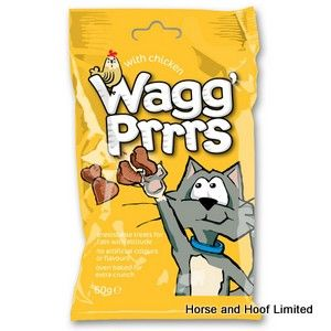 Wagg Prrrs Cat Treats with Chicken 12 x 60g