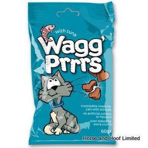 Wagg Prrrs Cat Treats with Tuna 12 x 60g